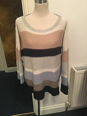 Phase Eight Ladies Jumper With Mohair And Angora Size 16