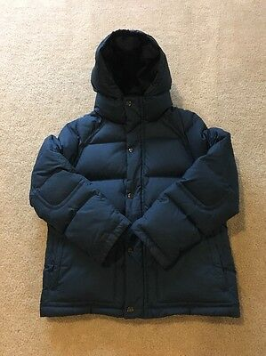 J.Crew Crewcuts Boy's Everyday Down Puffer NAVY BLUE Size 10