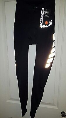 Altura Night Vision Women's Cycling Waist Tights . Highly Reflective. Size 10