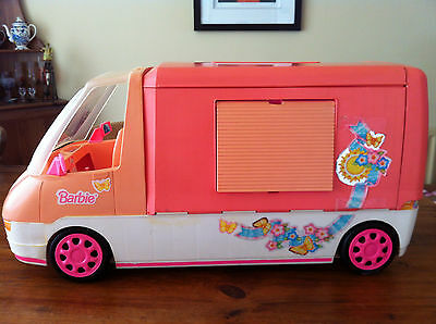 Barbie Motorhome And Accessories