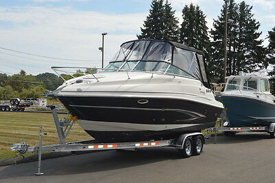 2009 GLASTRON GS 259 CRUISER, VOLVO 5.0GXi 270hp 52 hrs, No Outdrive, New Trailr