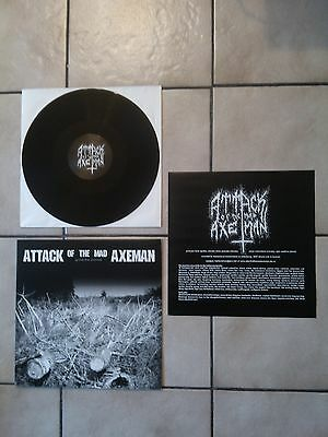 Attack of the Mad Axeman grind the enimal VINYL