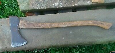 vintage elwell no 5 lb timber felling chopping axe