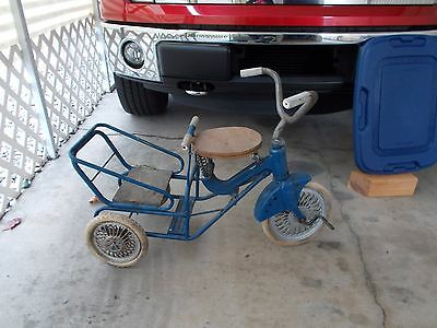 Antique Vintage Childrens Tricycle Pedal Toy