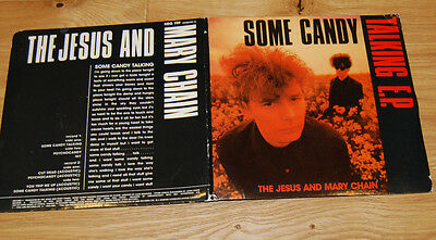 "Jesus and Mary Chain - Some Candy Talking - 7"" Gatefold 1986"