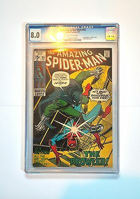 Marvel Amazing Spider-man - No.93 – CGC 8.0 - Off-white Pages – Rare