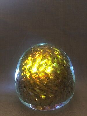 Crystal sphere ornament