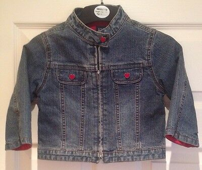 BabyGap - Girls Denim Jacket - Age 2 years