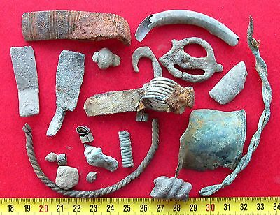 Ancient Vikings Bronze Artifacts