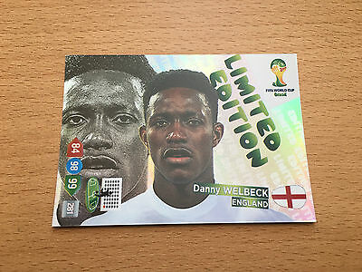 Panini Adrenalyn XL World Cup Brazil WM 2014 Welbeck Portrait UK Limited Edition