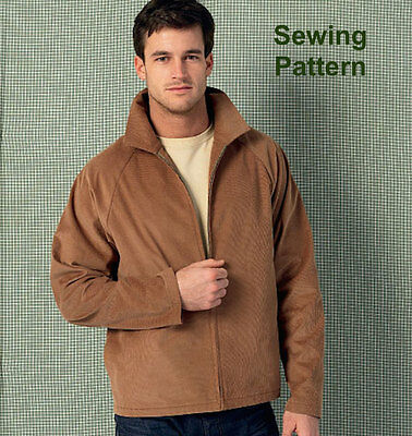 Kwik Sew K4017 Pattern Mens Jackets S-XL BN
