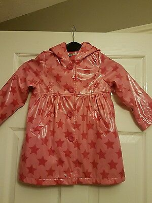 Girls M&S pink coat age 2-3 years
