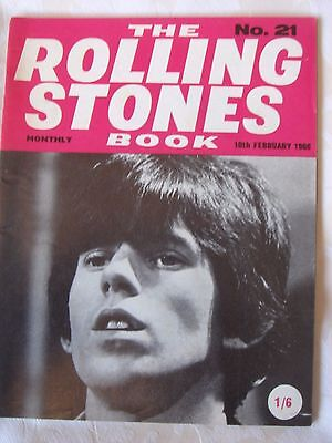 Rare original 1960's ROLLING STONES Monthly Book, issue no. 21