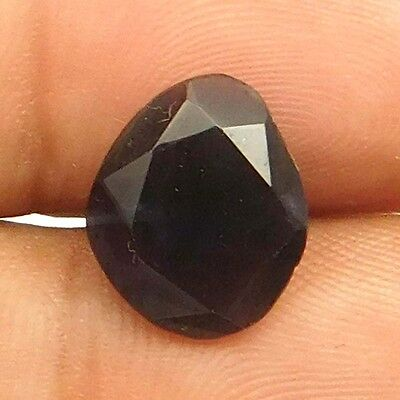 8.10 cts Natural Inclusion Rare Iolite Both Side Faceted Fancy Loose Gemstone