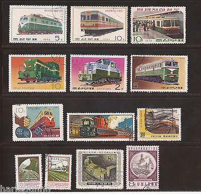 China And Korea Selection Of Stamps Used - Great Condition #e