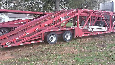 2004 Kaufman 6 Car Trailer and Hauler