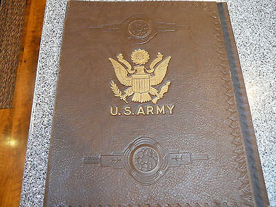 Vintage U.S. Army WW 1 Stationery from Green Briar Hotel One Cent Stamp