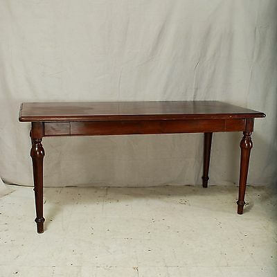 Mahogany Desk Writing Table Vintage Antique