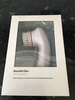 Boots No7 Beautiful Skin Cleansing Brush ~  New & Boxed