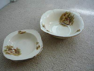 Alfred Meakin Serving Bowl / Dish And Three Matching Dishes