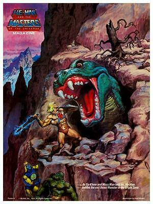 He-Man  POSTER #8  Masters of the Universe  *LARGE & AMAZING IMAGE*  He Man