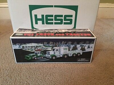 Look! 2013 Hess Truck with Truck & Tractor