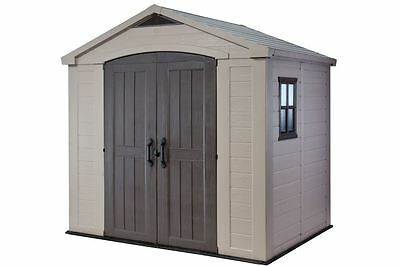 New Boxed Keter 8 X 6 Garden Shed Our Sale Item