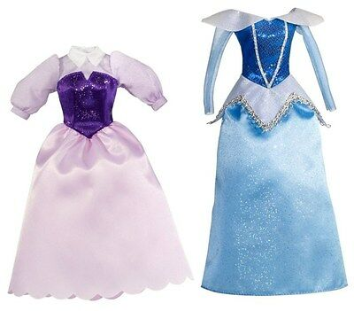 Disney Princess Doll Outfit - Sleeping Beauty 2 Blue & Pink Dress with Bracelet