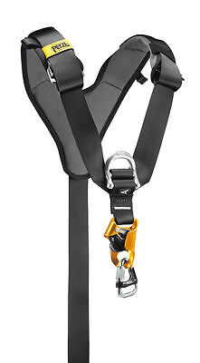 PETZL TOP CROLL - Chest harness for seat harness, with integrated CROLL