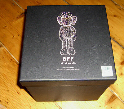 Kaws BFF Black 2016  IN HAND MINT 5YL Chum un-signed not print UK SELLER