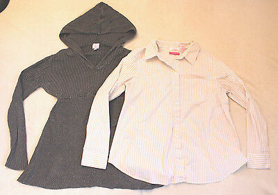 Women's Maternity Blouse and Sweater - Large