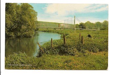 postcard-Sussex-Lewes-River Ouse