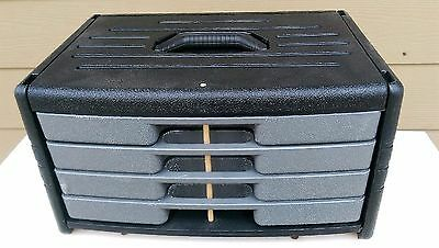 105 Pcs Tool Kit with 4-Drawer Chest