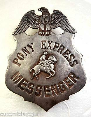 Pony Express Silver Badge
