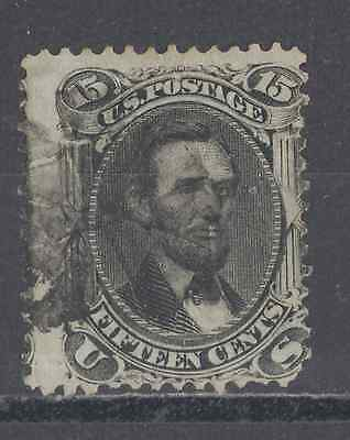 Us Used Stamps   #77 15-Cent Black