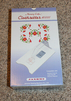 Memory Craft Clothsetter 10000 (Janome)