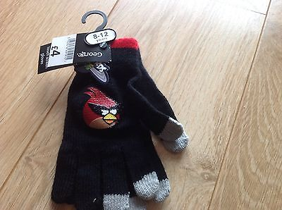 New George Angry Birds Gloves 8-12 years