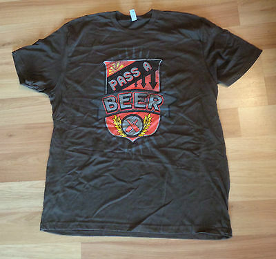 Used Pass A Beer Jake Owen Tour Concert T-Shirt Adult Xl