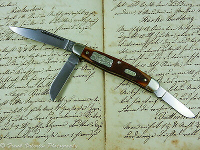 Böker Tree Brand USA Stockman Taschenmesser pocket knife Sammlermesser