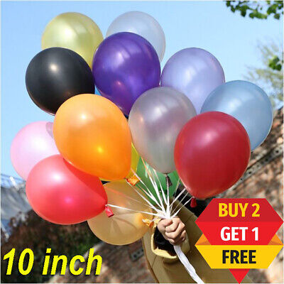 20 Latex PLAIN BALLOONS BALLONS helium BALOONS Quality Party Birthday Wedding