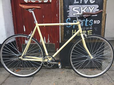 clearance sale : vintage Single Speed & Fixed Gear racing Road Bike RRP £249