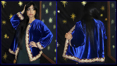 Exceptional Uzbek Embroidered Jacket From Bukhara T700