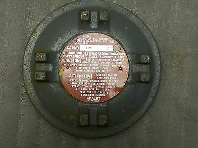 *Lid Only* Adalet Xjmc B Explosion Proof Outlet Box Lid