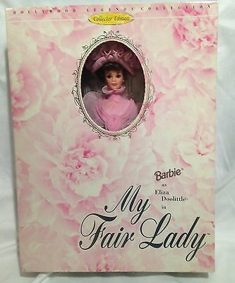 Vintage Barbie Collector Edition Eliza Doolittle in My Fair Lady - Pink Dress