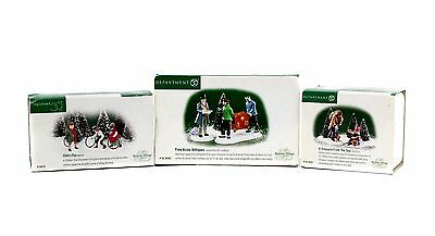 Lot 3 Dept 56 Dickens Village Child's Play Fine Asian Antiques Treasure From Sea