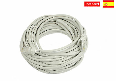 Cable Ethernet CAT6 Red 20M Calidad Rj45 Cable Internet Nuevo Modelo UTP CAT6