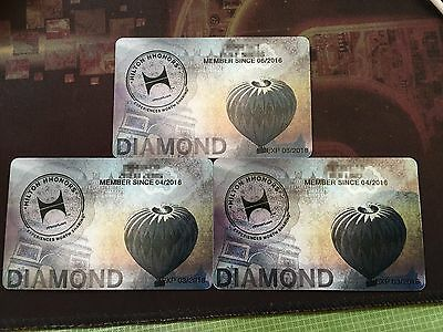 Hilton Diamond Hilton honors (90 days trial Diamond, can be extended to 2018)