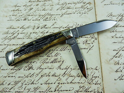 Schatt & Morgan USA Gunstock Taschenmesser pocket knife Sammlermesser collectors