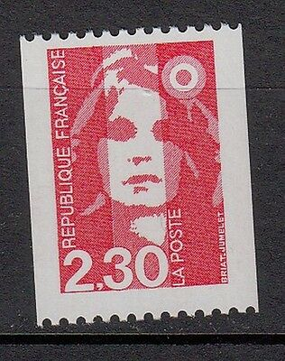 17b** Timbre FRANCE Neuf**MNH**TBE MARIANNE DU BICENTENAIRE 1990 roulette n°2628