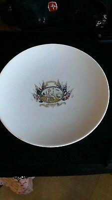 arcadian crested china plate for British empire exhibition 1924 at Wembley